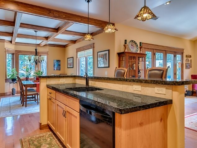 Kitchen Island Outlook Construction and Remodeling Flagstaff Arizona